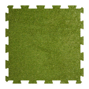 Artificial grass rubber mat - puzzle