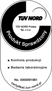 TUV NORD Produkt Sprawdzony